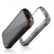 Batterie Externe et Chargeur Solaire Sans Fil de 26800 mAh