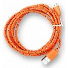 Câble de Chargement et de Transfert USB Tressé en Nylon pour Smartphones