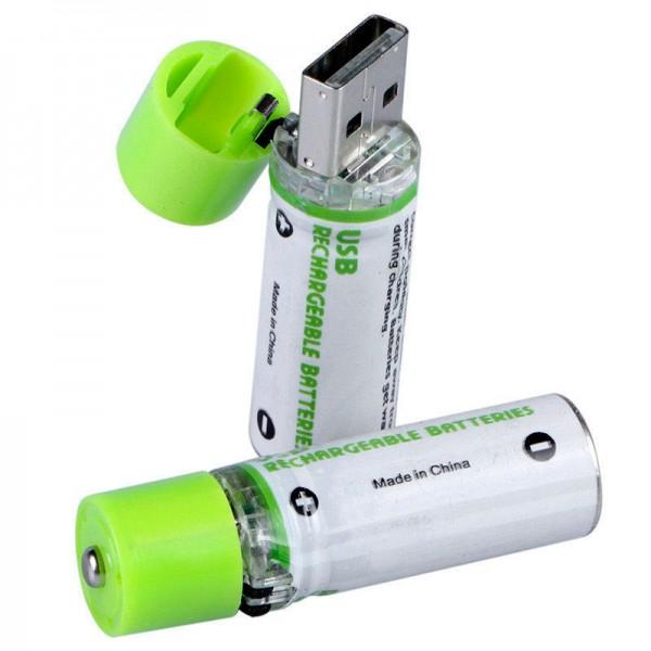 Batteries Rechargeables Par Prise USB