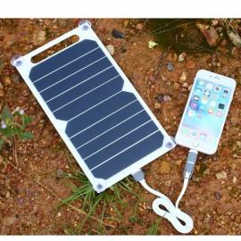 Chargeur Solaire Plat Portable Haute Efficacité