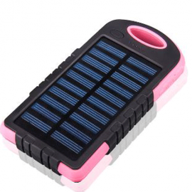 Power Bank Solaire 10000mAh - Batterie Externe pour Téléphones Mobiles