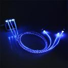 Câble Micro-USB LED pour Téléphone Android