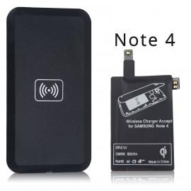 Chargeur Récepteur Sans Fil Qi - Kit Complet pour Smartphones