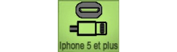 Compatible iPhone 5 et plus