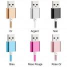 Câble Chargeur Tressé USB Micro USB pour Recharge et Transfert