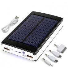 Batterie Externe USB à Énergie Solaire 12000mAh