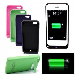 Coque Batterie 2200mAh Rechargeable Haute Capacité Power Case Iphone 5/5s
