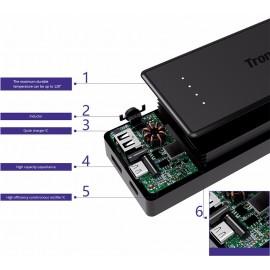 Chargeur Batterie Externe Lithium-Ion 10400mAh Technologie Quick Charge 3.0 USB Type-C