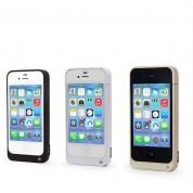 Coque Batterie 4000mAh Rechargeable Haute Capacité Power Case Iphone 4 / 4s