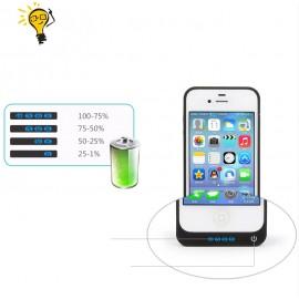 Coque Batterie 4000mAh Rechargeable Haute Capacité Power Case Iphone 4 / 4s