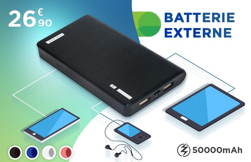 Batterie Externe 50000mAh